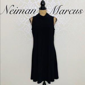 NEIMAN MARCUS BLACK SIZE 10 DRESS